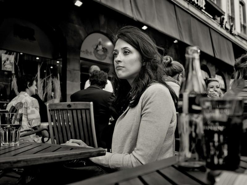 Gedankenverloren in Straßburg